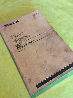Caterpillar Cat 3306 Vehicular Engine 3n1-24132 Parts Catalog Manual Book Shop