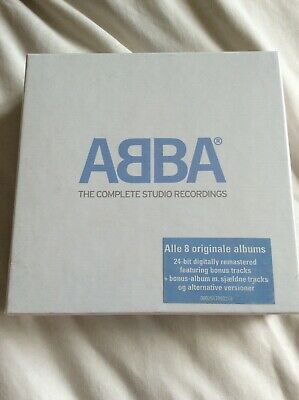 Abba The Complete Studio Recordings Boxset New And Sealed