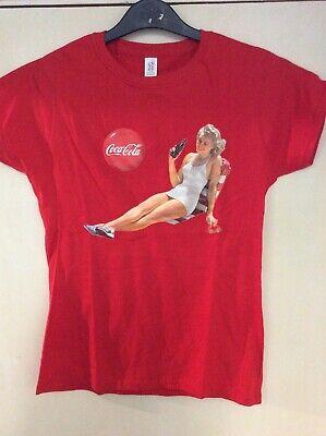Joblot Of 35 Ladies Coca Cola Tshirts