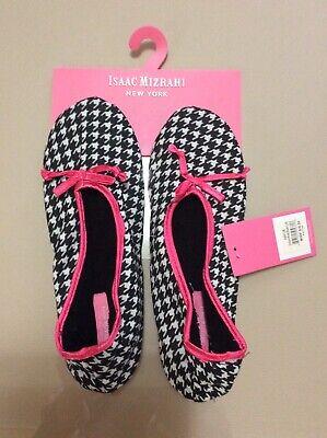 Isaac Mizrahi New York  Slippers Women's COLOR PINK Medium Large Indoor Outdoor