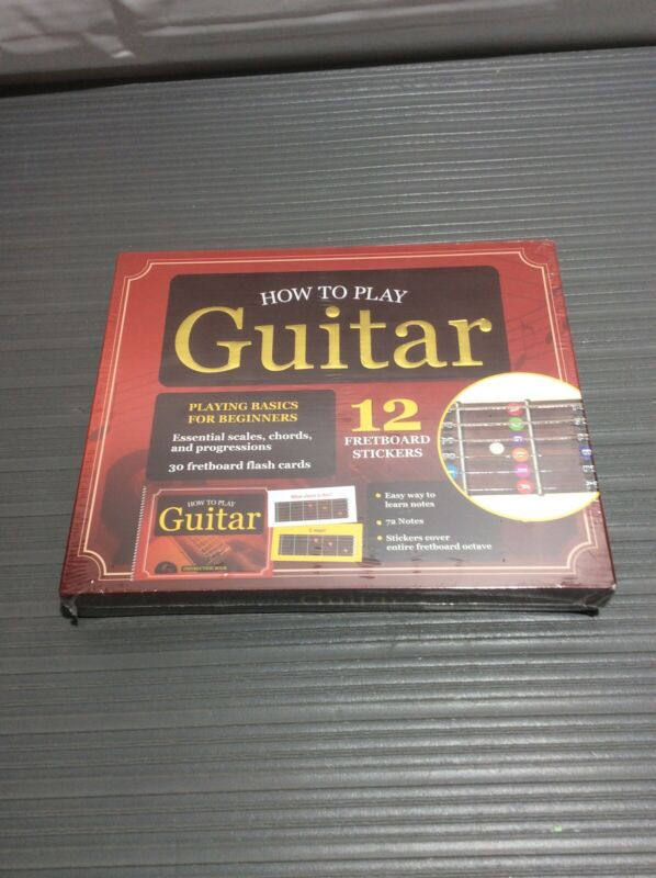 How To Play Guitar Basics For Beginners Set
