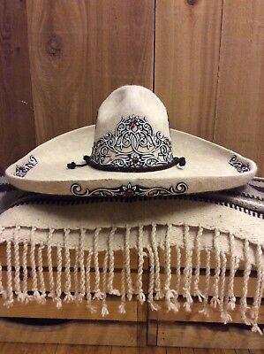 MEXICAN CHARRO HAT/ SOMBRERO CHARRO