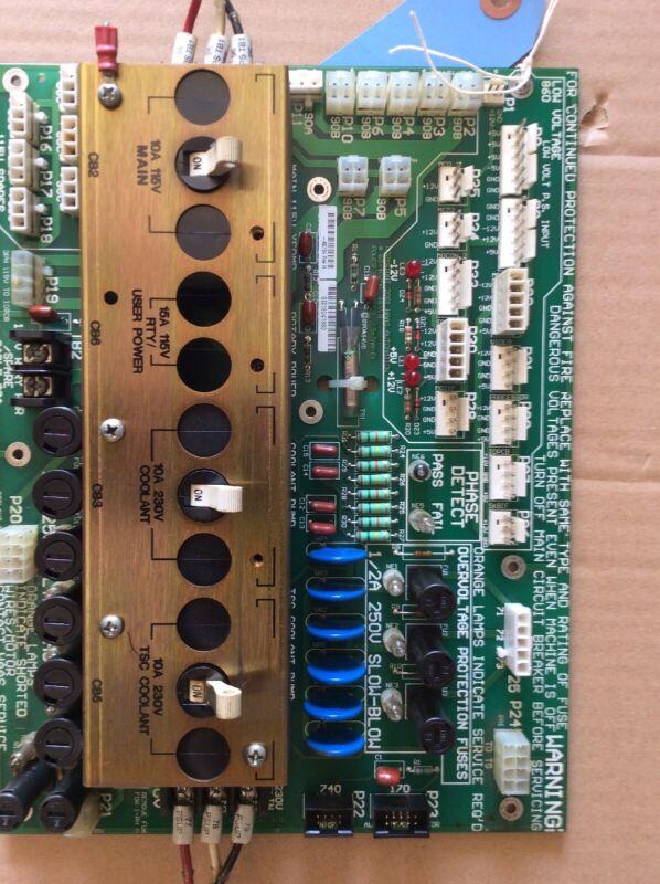 Haas Automation Control Board Rev B 65-4075G Power Supply Distribution PCB