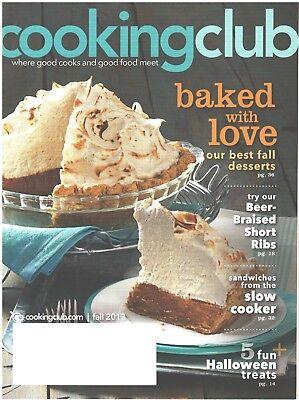 Best Halloween Desserts (COOKING CLUB Magazine Fall 2013 Best Desserts Halloween Treats Sandwiches)