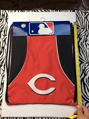 Cincinnati Reds NEW Team Axis Back Sack MLB Baseball Backpack NWT Gift Fan Gym