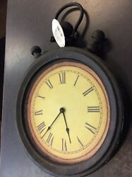 Cape craftsmen  Pocket Watch Style Wall Clock