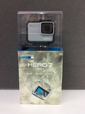 NEW GoPro HERO7 Waterproof Digital Action Camera - White (CHDHB-601) Brand New