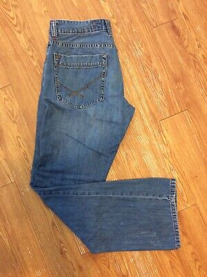 Men's Regular Fit Quicksilver Quick Jeans 34 Waist 32 Length Style LQSD1333 Used