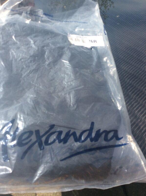 Alexandra+Easycare+Skirt+NF133BK%2C+Plain+100%25+Polyester+Size+26+Black