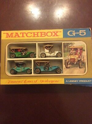 Vintage Marchbox Famous Cars Of Yesteryear, A Lensey Product