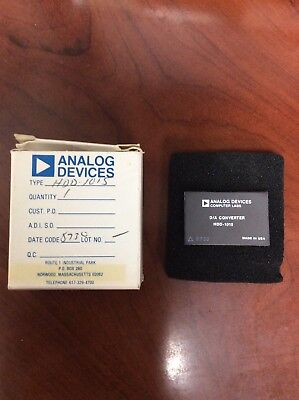 New Analog Devices Da Converter Hdd-1015