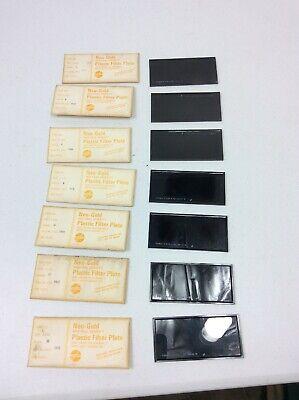 7 Vintage Welding Lenses Jackson