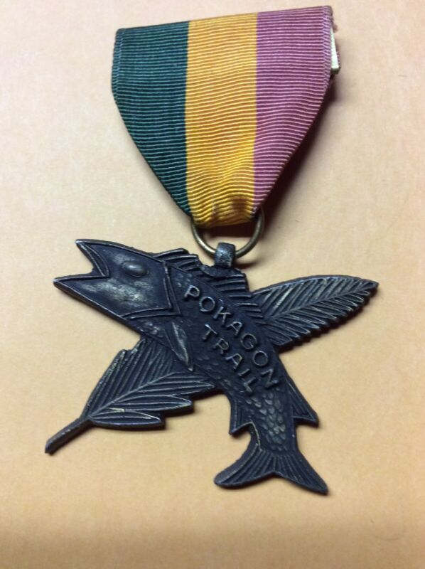 Boy Scouts -  POKAGON Trail medal. INV-P0041
