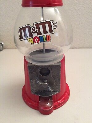 Gumball Machine Vintage Bubble Gum Globe Glass Candy Bank Nuts Coins