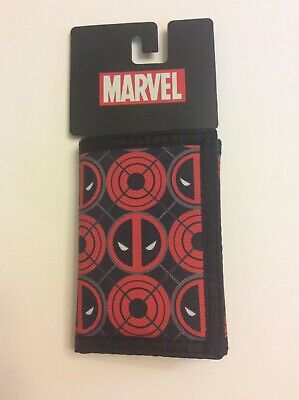 Bioworld Marvel DEADPOOL Trifold Wallet NEW!!!