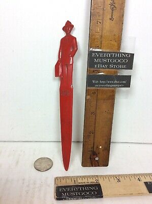 1950s Mens Suits & Sport Coats | 50s Suits & Blazers Vtg Fuller Brush Salesman Letter Opener Red Advertising Man Suit Briefcase 1950s $9.99 AT vintagedancer.com