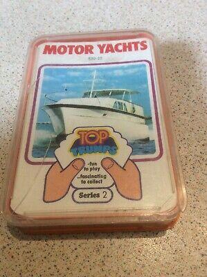VINTAGE 1970s MOTOR YACHTS TOP TRUMPS