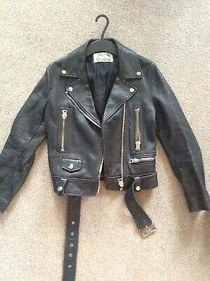 Acne Studios Leather Biker Jacket Ladies 34/6