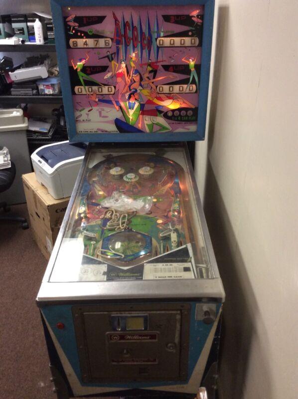 Williams A-GO-GO Pinball Machine
