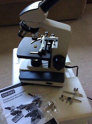Omano Om118-m3 40x-400x Monocular Student Compound Microscope