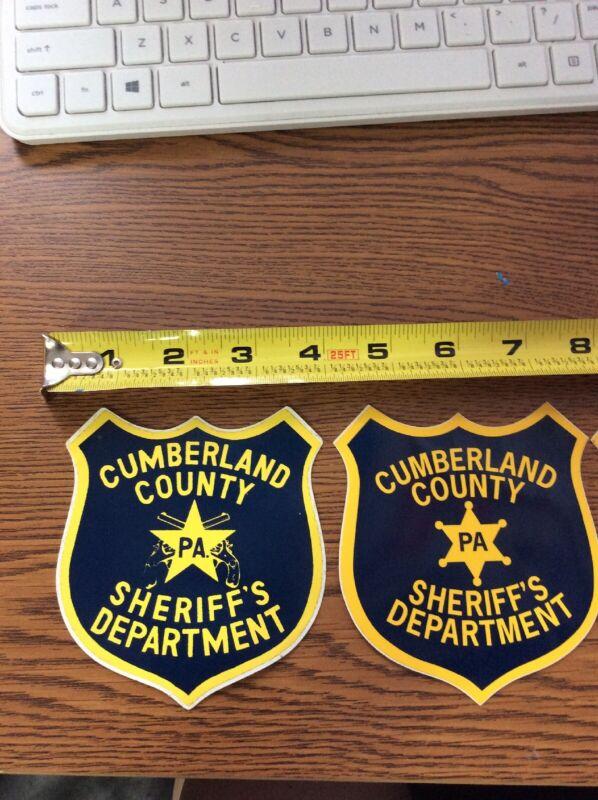 Lot Of 3 Cumberland County Sheriff