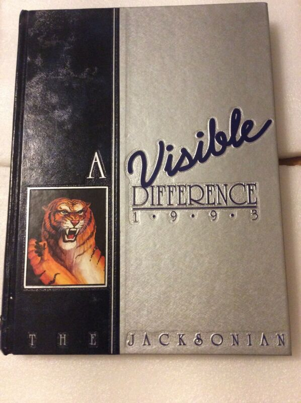 """1993 JSU """"The Jacksonian"""" Yearbook. Jackson, Mississippi.  Hinds County, MS"""
