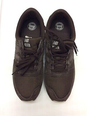 NEW BALANCE Men's U420BRN Lifestyle Sneakers  Brown Size 11