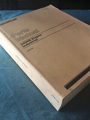 Cat Caterpillar 3406b Industrial Engine Parts Book Manual Sn 6tb1-up Guide