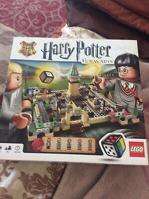 LEGO 3862 Harry Potter Hogwarts Board Game Complete With Instructions