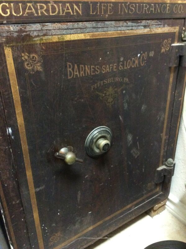 antique safe combination lock GUARDIAN LIFE INS CO