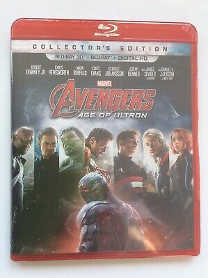 Avengers: Age of Ultron (Blu-ray Disc, 2015, Includes Digital Copy