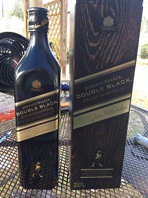 Black Bottle Scotch Whiskey (JOHNNIE WALKER DOUBLE BLACK Scotch Whisky Bottle & Box )