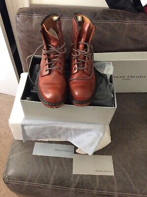 Officine Creative Marais Bulgaro Boots Mens Size 9