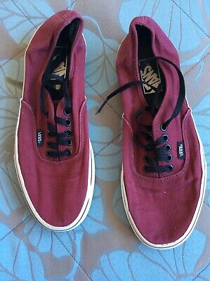 VANS Off The Wall Skateboarding Trainers / Shoes Size Mens US 9 VGC