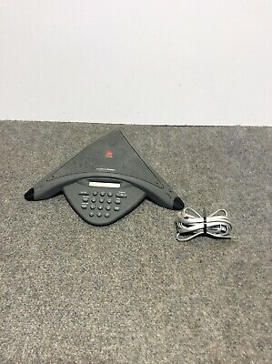 Used Polycom Soundstation Premier Conference Phone 2201-01900-001 - Only