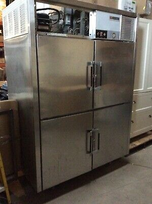 Victory Commercial Refrigerator Rs-2d-s 4 Door Stainless Steel Ser. L-8-17-0-80