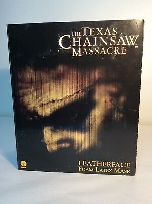Foam Latex Masks (Texas Chainsaw Massacre Latex Foam Mask New Line Rubies In)