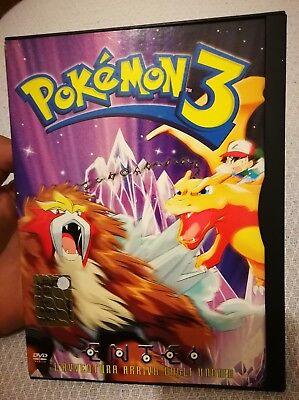 Pokémon DVD Film 3 Snapper L'avventura Arriva Dagli Unown