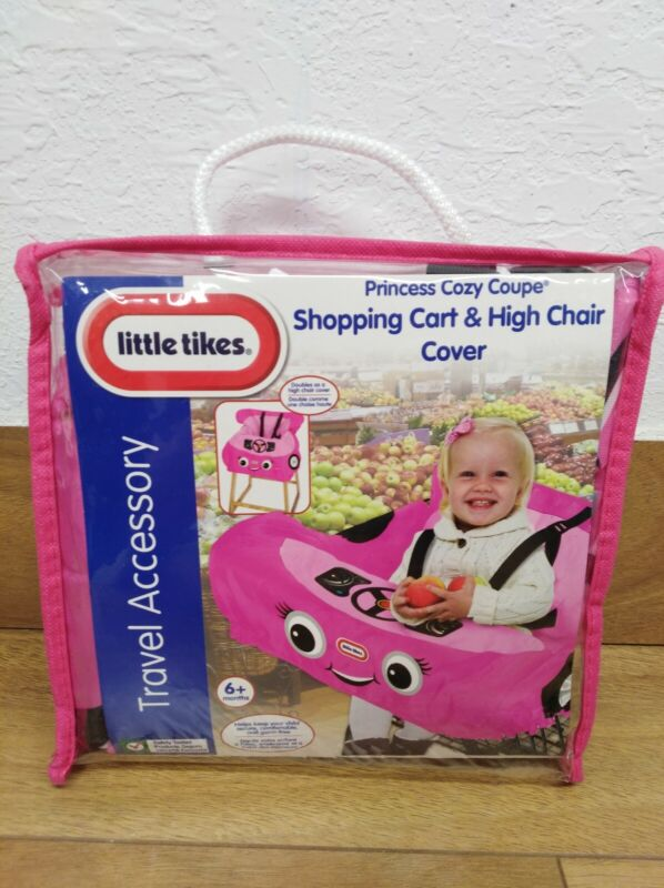 Little Tikes Shopping Princess Cozy Coupe Cart Cover And High Chair Cover - Pink