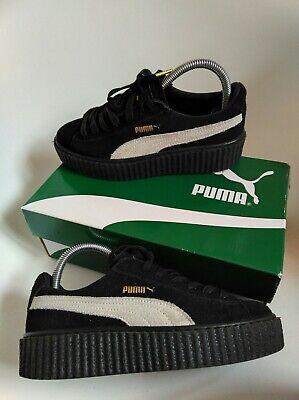 Puma platform women's trainers size 4 Rihanna Creeper Trainers