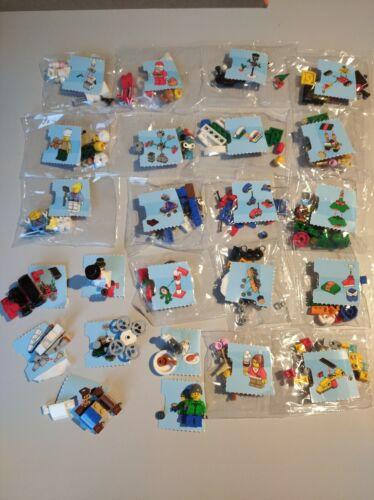 Lego City Kleinteile Adventskalender