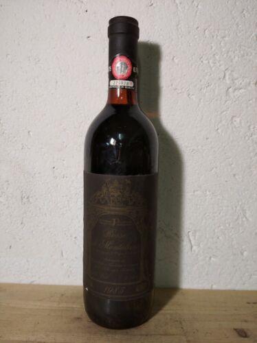 Vino Rosso di Montalcino Piccolomini 1985 cl. 0.75 vol. 13%