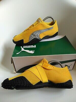 Puma Mostro men's trainers  Size 7  stunning rare  yellow authentic