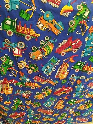 Kids curtains trucks and fire truck curtains for boys room 40 x 57 boys curtains