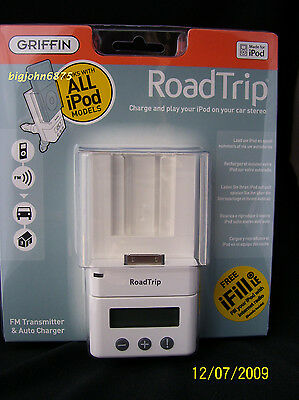 Griffin Technology 4030-ROAD RoadTrip FM Transmitter and Aut