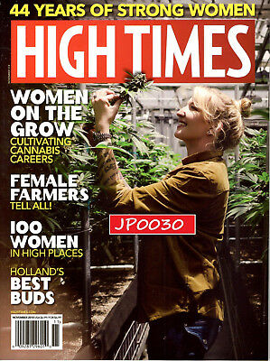 High Times November 2018, Women on the Grow, Brand New/Sealed