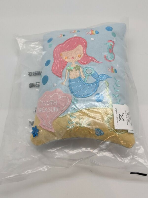 Floss & Rock Tooth Fairy Pillow - Mermaid (missing embroidery)