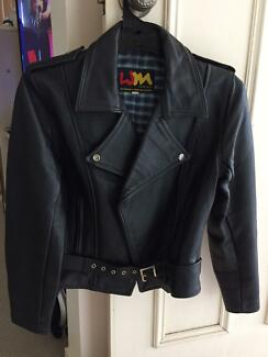Leather  jacket   Walden miller unisex