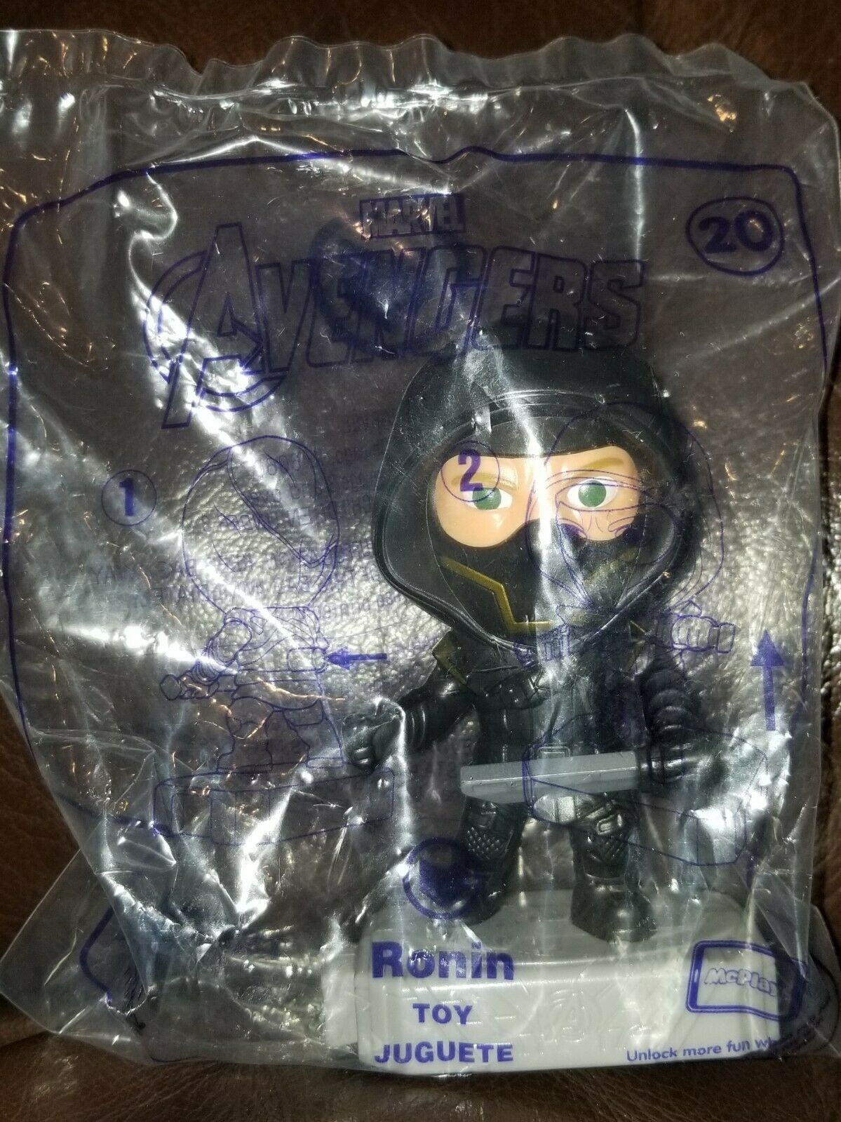 Avengers (2019) McDonalds Happy Meal Toys- Fast Shipping! #20 Ronin