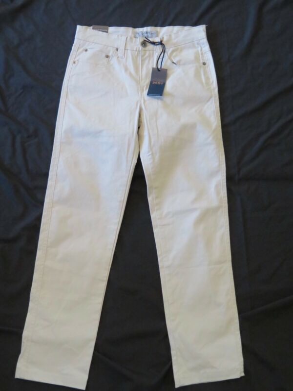 EUC GAP Kids Boy's Size 12 Beige Khaki Straight Skinny Leg Uniform Pants